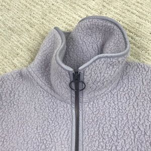Madewell Jackets & Coats - Madewell Polartec Fleece Half-Zip Jacket Thistle S